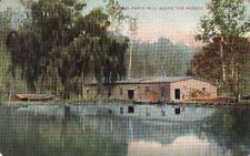 Postcard  Paper Mill Passaic River NJ
