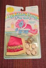 Vintage 1984 My Little Pony Pony Royal Pony Wear.