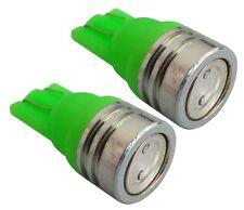 2x ampoule T10 W5W 12V LED vert veilleuses éclairage intérieur seuils de porte