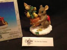 """Retired Mib Dean Griff Charming Tails """"The first dayof Christmas """" mouse 1999"""
