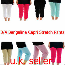 Mid Capri, Cropped Trousers Plus Size for Women