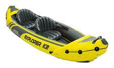 Intex 68307EP Explorer K2 2-Person Inflatable Kayak Set