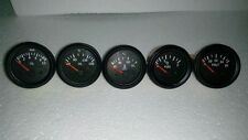 El Gauges 52mm (5pc) - Volt +Water Temp C+ Oil Temp C+Oil Press bar + Fuel Gauge