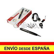 Bolígrafo Espía Cámara Oculta 720 HD, 1080 CIF AVI con MicroSD de 16GB a3108