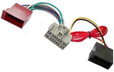 Adaptador cable enchufe ISO para autoradio de Ford Fiesta Land Rover Defender