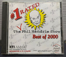 The #1 Rated PHIL HENDRIE SHOW Best of 2000 CD KFI AM 640 - Very Good