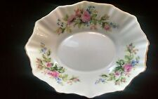 Royal Albert Bone China Moss Rose (Montrose Shape) Sweet Meat Candy Nut Dish