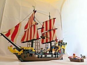 LEGO 6285 ~ Pirates I ~ Black Seas Barracuda ~ Vintage 1989 ~ instructions