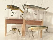 LOT OF 4 VINTAGE L&S FISHING LURES