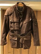 Belstaff Trialmaster waxed cotton motorcycle jacket Large