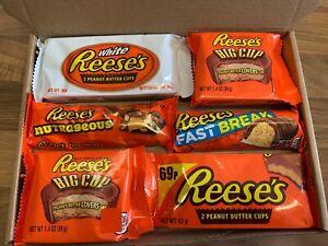 Reese's Medium Assortment American Chocolate Peanut Butter Gift Box Hamper USA