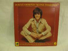Donny Osmond, Alone Together Vinyl Lp 1973