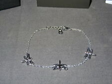 New Welsh Clogau Silver & Rose Gold Damselfly Bracelet RRP £119