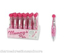Pink Mom Personalized Ballpoint Writing Pen Great Gift Idea Black Ink