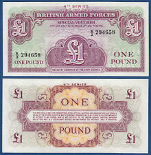 British Armed Forces 1 Pound (1962) P. UNC m36