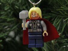 Thor Lego Christmas Ornament, Marvel, Lego Movie