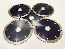 5-PACK! 4 inch diamond blades for cutting tiles, porcelain, stone and masonry