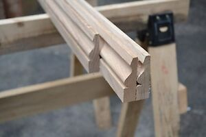 Solid Oak Architrave Set - Choice of patterns and profiles and configurations