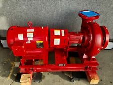 Bell Amp Gossett E 1510 Ssf Water Pump Baldor Super E 75hp Motor Skid Mounted