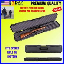 50.5 Inch Rifle Shotgun Case Tactical Hunting Carrying Gun Bag Padded Pouch SWAT