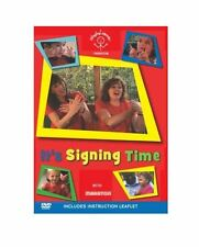 It's Signing Time Singing Hands Makaton children baby group bsl sign language