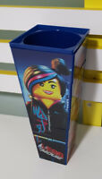 CINEMAS PROMOTIONAL CUP TOY THE LEGO MOVIE WITH RUBIKS MIXUPABLE SIDES!