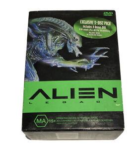 Alien Legacy (DVD 2000) 4 Disc Set Four Films Included