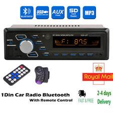 1 DIN Car Radio Stereo USB/SD  Head Unit In-dash Bluetooth Audio MP3 Player