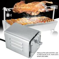 Stainless Steel 50-70kgF Goat Chicken BBQ Spit Rotisserie Roaster Electric Motor
