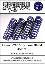 LEXUS IS200 SPORTCROSS 45mm LOWERING SPRINGS- HIGH QUALITY