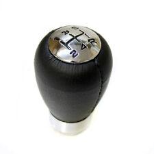New Black Leather Gear Knob For Fiat Albea Bravo Doblo Ducato Panda Stilo