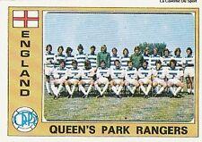 N°064 QUEEN'S PARK RANGERS TEAM EURO FOOTBALL 76 STICKER PANINI VIGNETTE ENGLAND