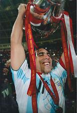 Carlos TEVEZ SIGNED Autograph 12x8 Photo AFTAL COA Argentina World Cup
