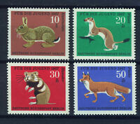 ALEMANIA BERLIN GERMANY 1967 MNH SC.9NB45/48 Animals