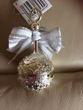 """New, metal,Heirloom ornament collection,babies,1st Christmas,babies rattle,4""""tal"""