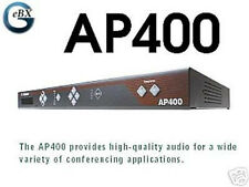 ClearOne Gentner AP 400 +90d Wrnty; 4-Microphone Mixer, Amp and Telephone Hybrid