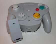 Nintendo Gamecube Wavebird Wireless Remote Controller w/ RECEIVER - Gray / Grey
