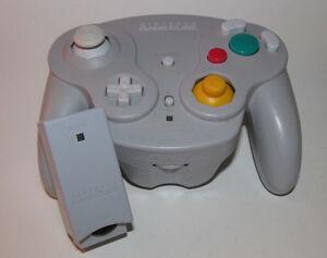 Nintendo Gamecube Wavebird Wireless Remote Controller w/ RECEIVER - Gray / Grey