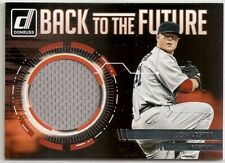 "2016 Donruss - JOHN LESTER ""Back To The Future"" Game-Used JUMBO JERSEY RELIC SP"