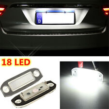 1 Pair License Number Plate LED Light Lamp Fits Volvo C30 XC60 XC70 XC90 S40 S60