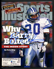 Barry Sanders Autographed Signed Sports Illustrated Detroit Lions Beckett S76659