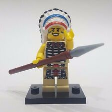 "LEGO Collectible Minifigure #8803 Series 3 ""TRIBAL CHIEF"" (Complete)"