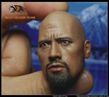 1/6 Belet Accessory BT013 The Rock Dwayne Douglas Johnson Head Scuplt For HT DAM
