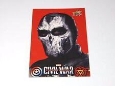 Marvel Captain America Civil War UPPER DECK Wal-Mart Card | Crossbones CW24