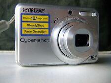 Sony Cyber-shot DSC-S930 10.1MP Digital Camera - Silver