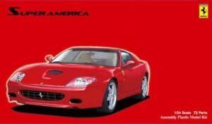 Fujimi 1/24 Ferrari 575M Maranello Super America Kit FU-12273 (New)