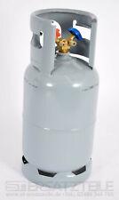 NEU Kältemittelflasche LEER 12,5L Recyclingflasche Doppelventil 1/4 R134a 48 BAR