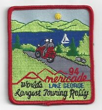 Americade Patch Longest Touring Rally 1994 Lake George NY Embroidered Patch