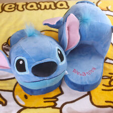 Disney lilo&stitch big head plush indoor slippers shoes slipper shoe new