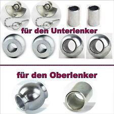 Set Unterlenker Kat.1+2 Unterlenkerkugel Fangschale Fendt, IHC, Unimog usw. Neu
